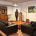 Cosy Corner at Alvinne brewery tasting room Moen